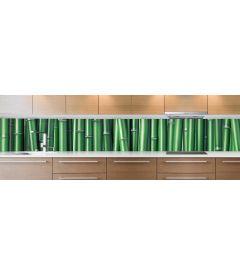 crédence bamboo