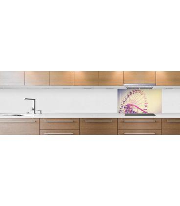 cr dence de cuisine sur mesure cr dence grande roue fond hotte. Black Bedroom Furniture Sets. Home Design Ideas