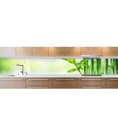crédence bamboo eau