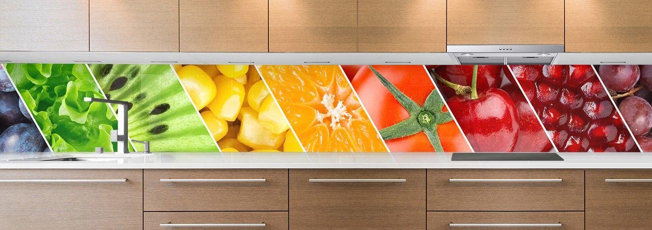 crédence aliment fruits & légumes