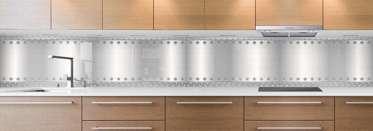 cr dence de cuisine sur mesure cr dence plaque aluminium. Black Bedroom Furniture Sets. Home Design Ideas