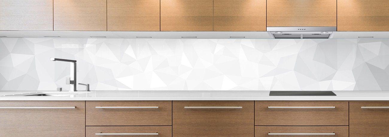 Fond et texture cr dence de cuisine for Credence cuisine blanc brillant