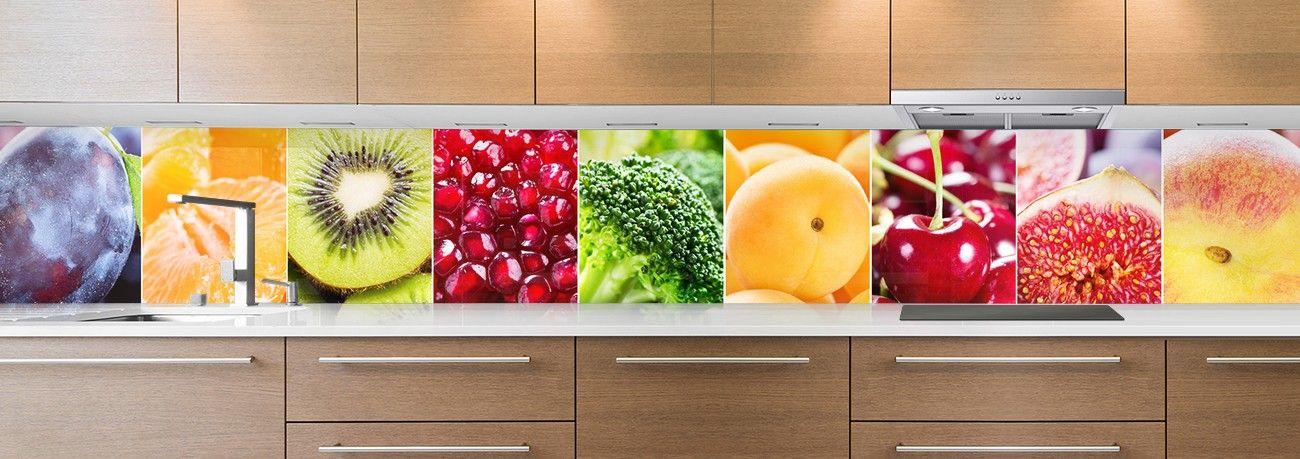 crédence fruits & légumes couleurs